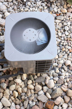 Air Conditioning Unit - Custom Vac provides a full range of heating and air conditioning services, water tank sales, and 24 hour emergency service.
